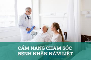 cẩm nang chăm sóc cho bệnh nhân nằm liệt
