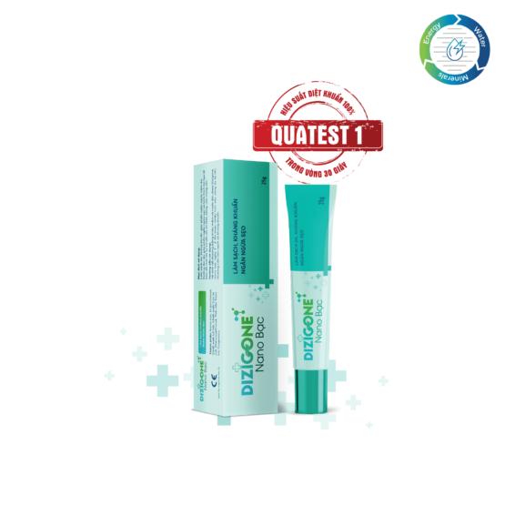 Dizigone Nano Bạc – Kháng khuẩn, tái tạo da, ngăn ngừa sẹo