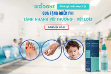"""Chương trình """"Trải nghiệm sản phẩm MIỄN PHÍ cùng DIZIGONE"""" – Dung dịch kháng khuẩn vượt trội"""