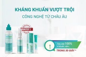 dizigone-cong-nghe-chau-au kháng khuẩn vượt trội, nhanh lành vết thương
