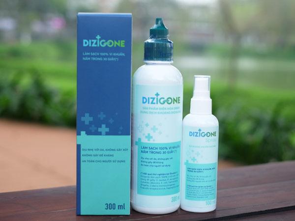 Dung dịch kháng khuẩn Dizigone - Kháng khuẩn vượt trội nhanh lành vết thương