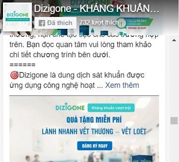 Facebook fanpage Dizigone