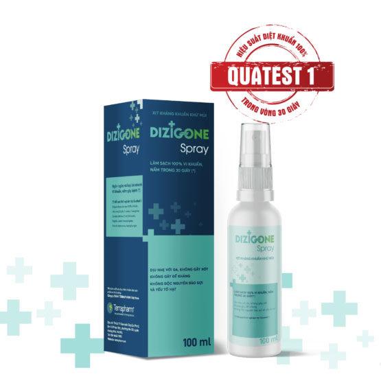 Dizigone Spray 100ml – Kháng khuẩn vượt trội