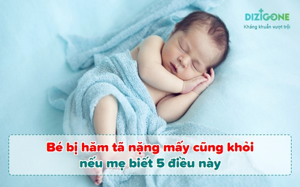 be-bi-ham-ta-nang bé bị hăm tã nặng