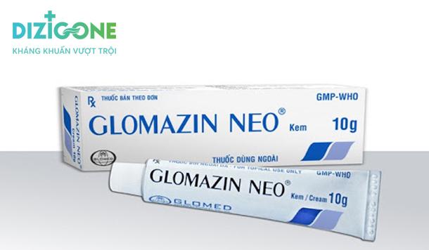 glomazin neo thuốc bôi vết thương hở