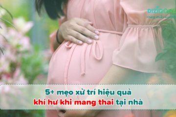 xu-tri-khi-hu-mang-thai xử trí khí hư mang thai