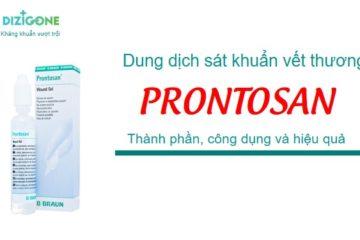 dung dịch sát khuẩn Prontosan