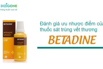 thuốc sát trùng betadine