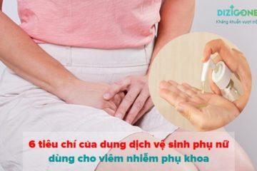 dung dịch vệ sinh phụ nữ cho viêm