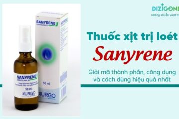 thuốc xịt loét Sanyrene